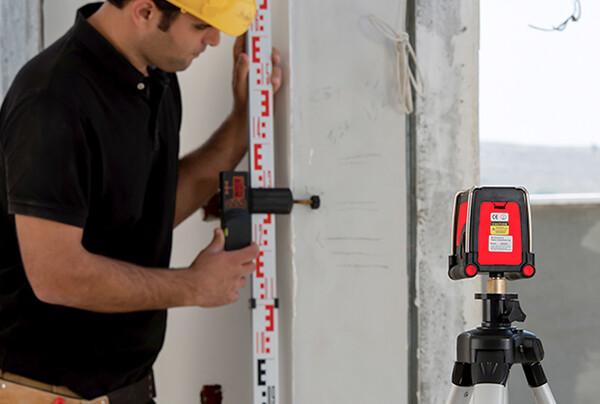 Нивелир лазерен линеен с 2 лъча 30 м, 0.2 мм/м Kapro 872 Prolaser Plus
