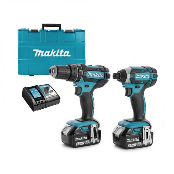 Комплект акумулаторни винтоверти Makita DDF482Z и DTD152Z, 18V, 3.0Ah