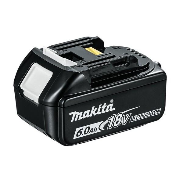 Акумулаторна батерия Makita BL1860B, Li-Ion, 18.0 V, 6.0 Ah