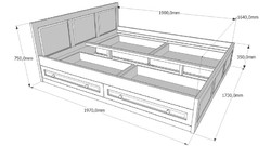 Спалня с чекмеджета