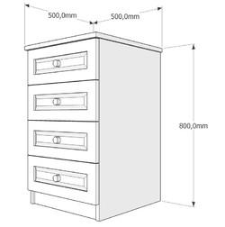 Скрин четири чекмеджета