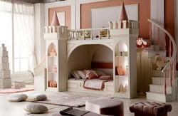 Легло къща приказен замък №14