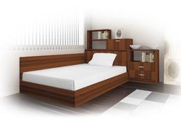 Легло СИТИ 7032 с етажерка