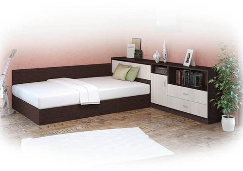 Легло СИТИ 7003 с етажерка