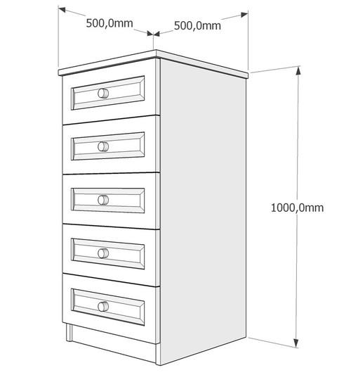 Скрин пет чекмеджета