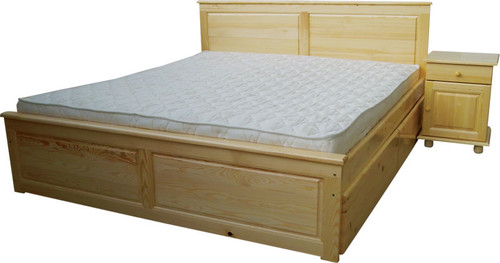 Спалня с права табла и механизъм