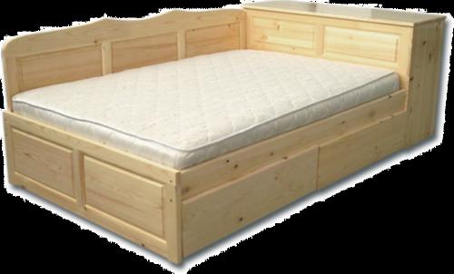Легло с чекм. и ракла