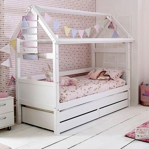 Легло къща с чекмеджета №5