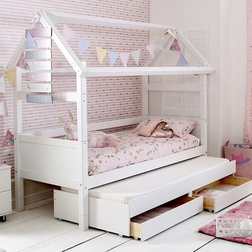 Легло къща сандвич с чекмеджета №9