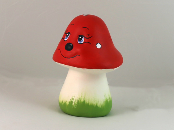 Гъба червена единична