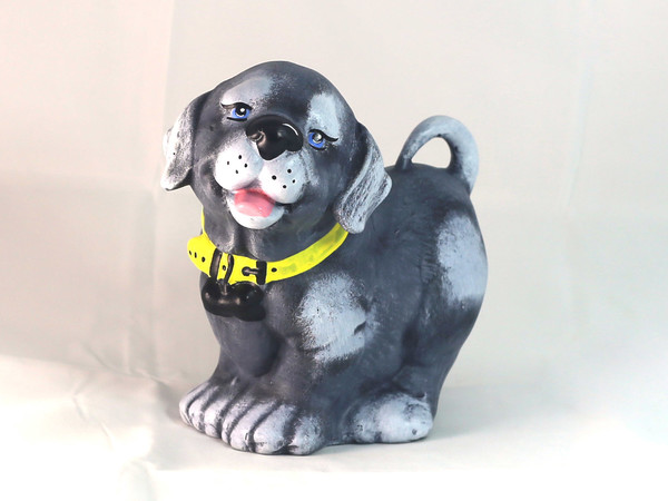 Куче с каишка