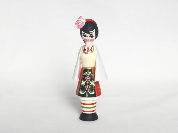 Мускал кукла момиче с еснция